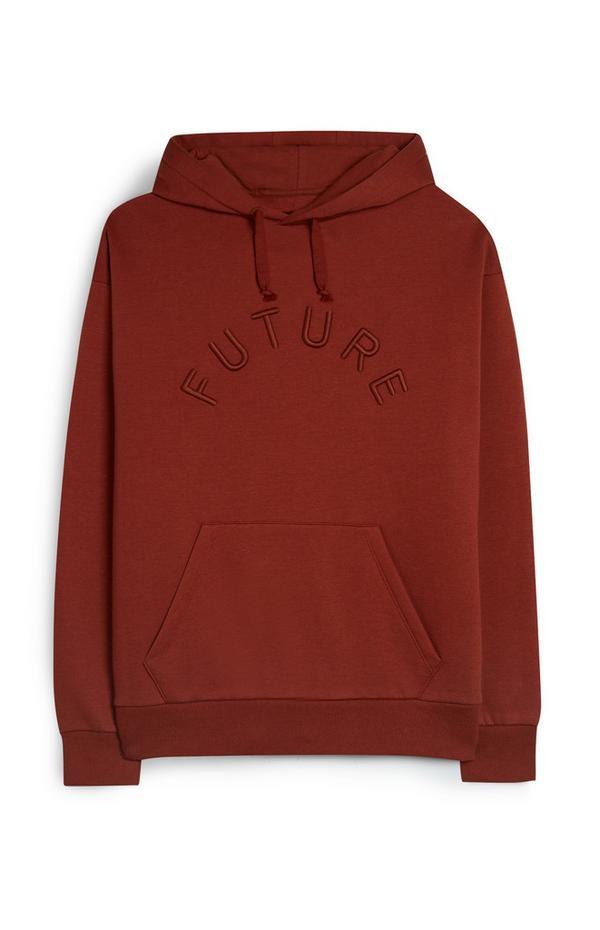 Bruinrode hoodie
