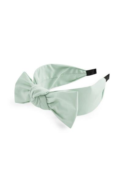 Mint Bow Knot Chunky Headband