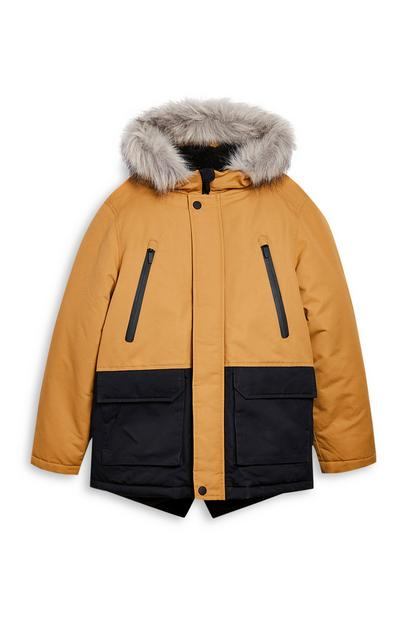 Older Boy Stone Parka