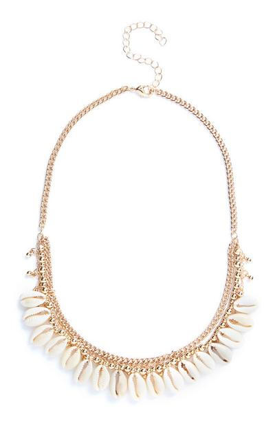 Shell Cluster Necklace