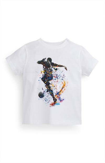 T-shirt futebol menino