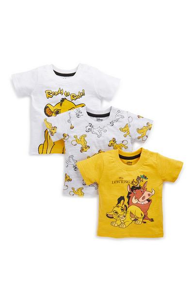Baby Boy Lion King T-Shirts 3 Pack