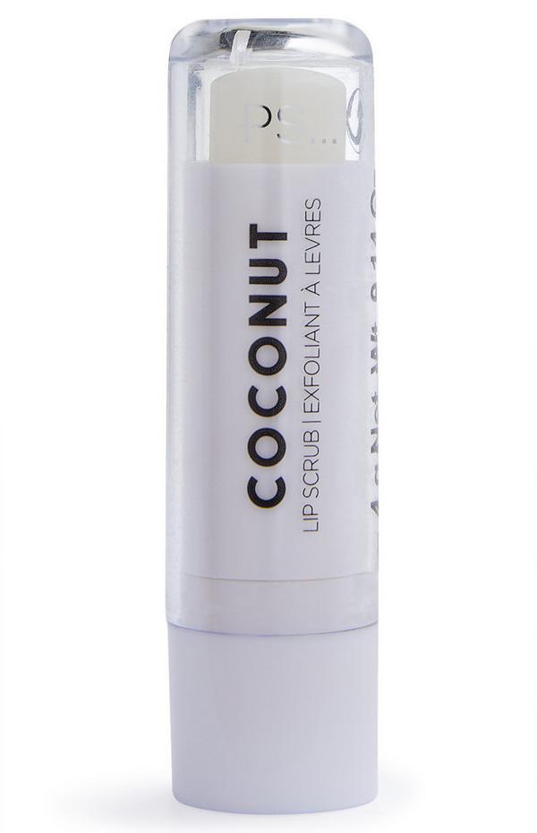 Lippenpeeling mit Kokosnussduft