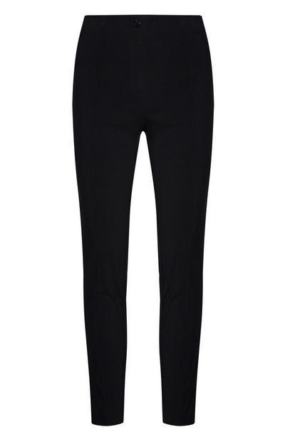 Black Skinny Bengaline Pants