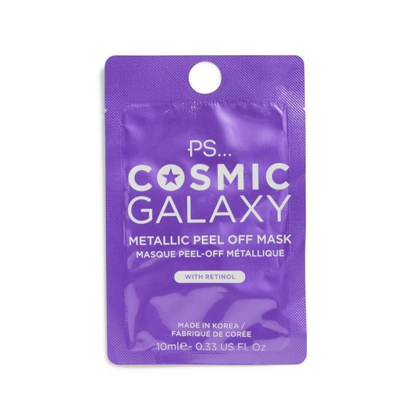 """PS """"Cosmic Galaxy"""" Peel-off-Maske mit Metallic-Effekt"""