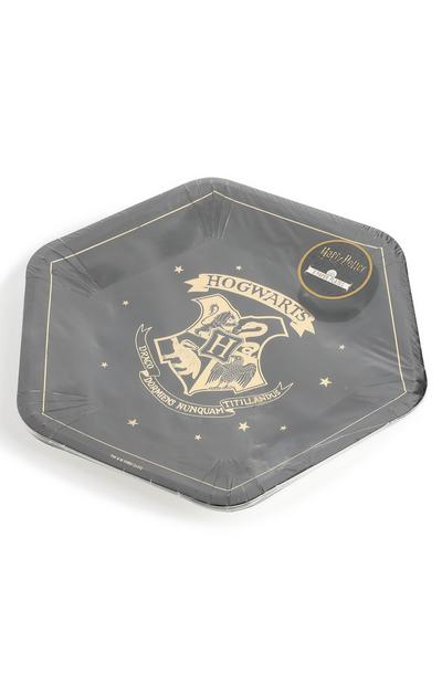 Lot de 8 assiettes de fête Harry Potter
