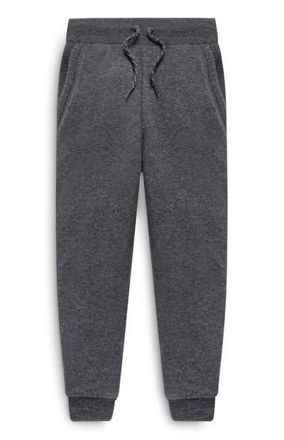 Younger Boy Dark Grey Joggers