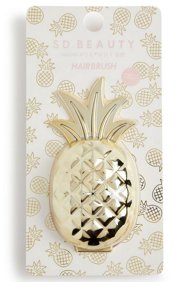 Skinny Dip Beauty Pineapple-haarontklittende borstel