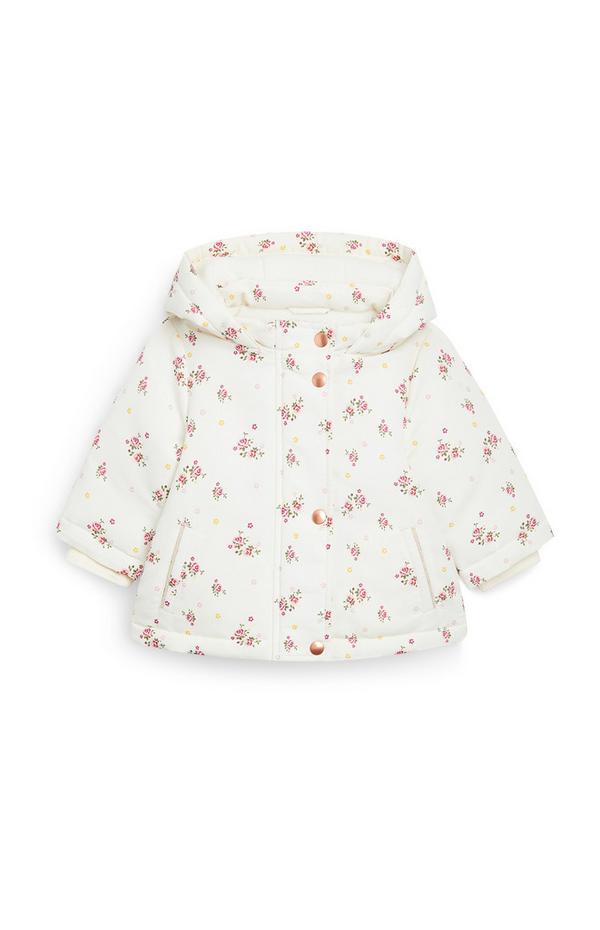Taslon-Jacke mit Blumenmuster für Babys (M)
