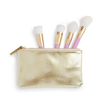 Skinny Dip Beauty Pineapple Brush Set