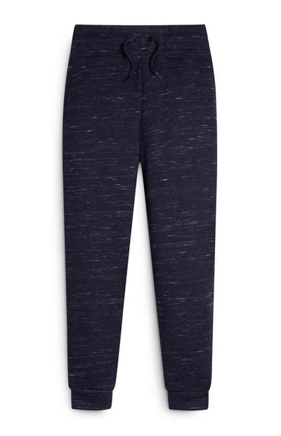 Younger Boy Blue Heather Joggers