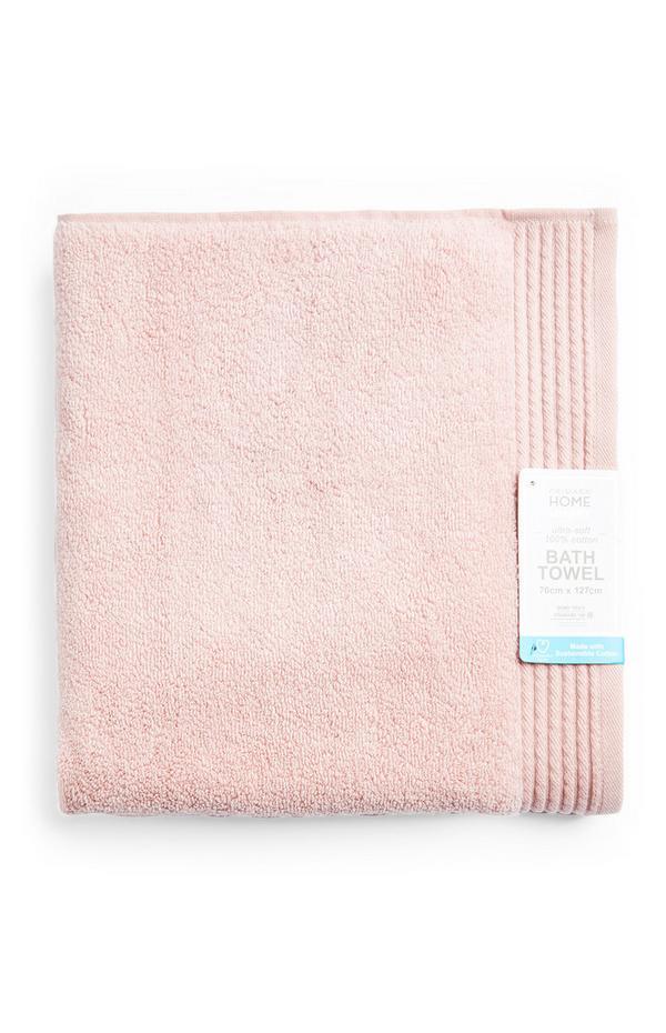 Pink Ultra Soft Bath Towel