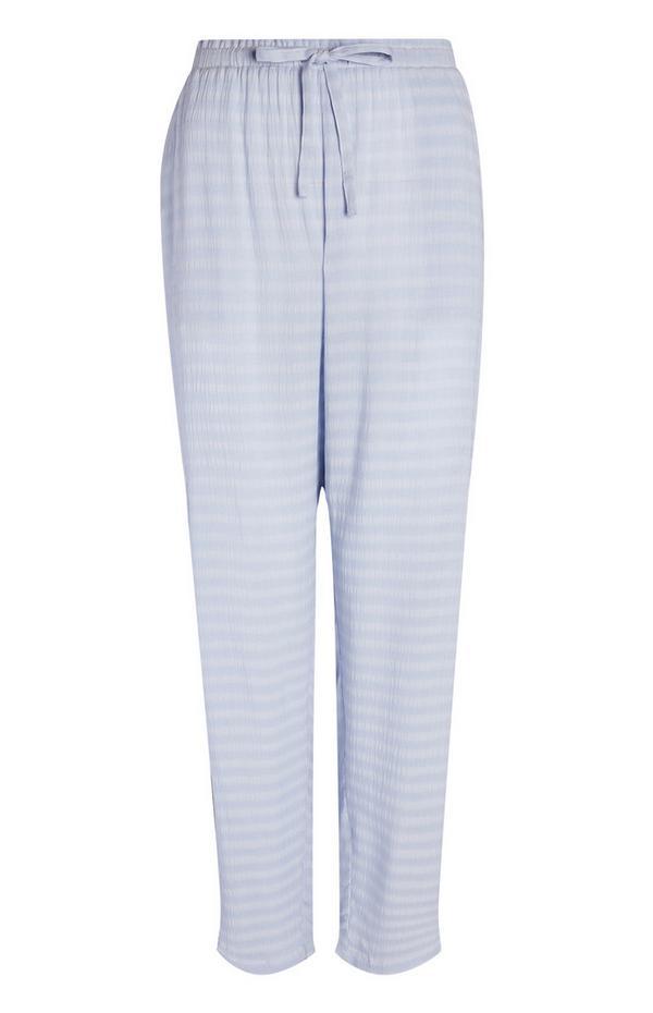 Modre ohlapne hlače