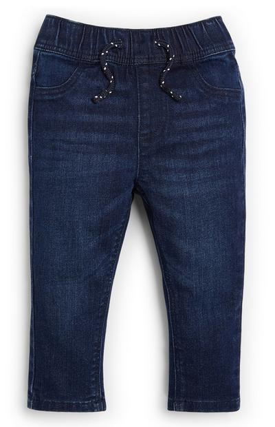 Baby Boy Dark Blue Denim Jeans