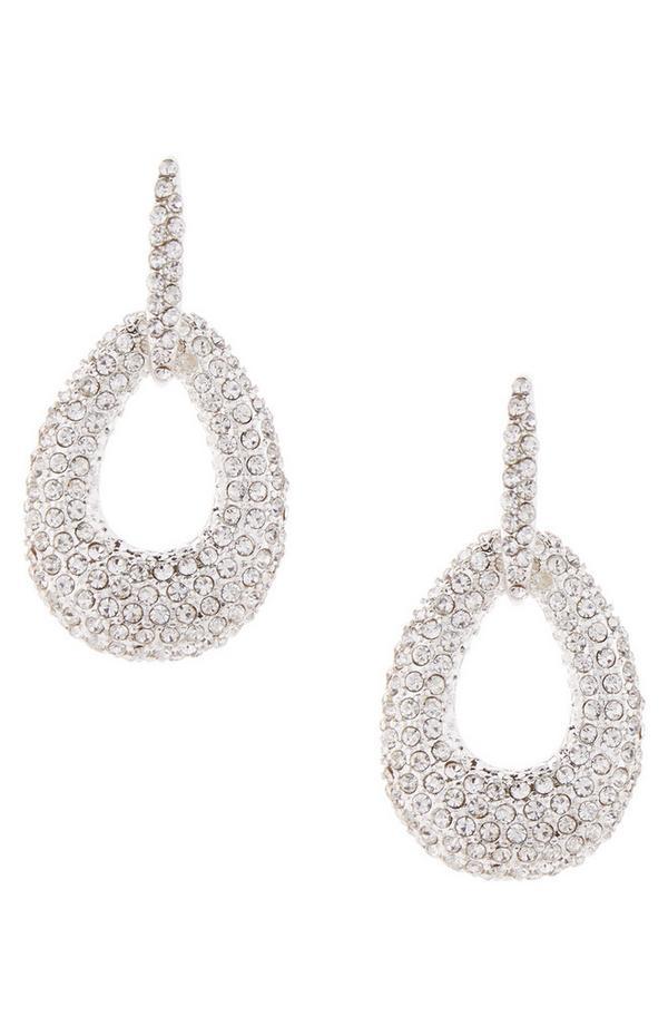 Diamond Encrusted Knocker Earrings