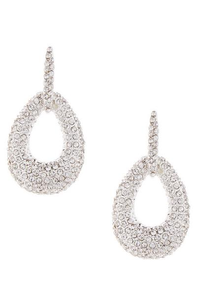 Diamond Encrusted Knocker Earrings