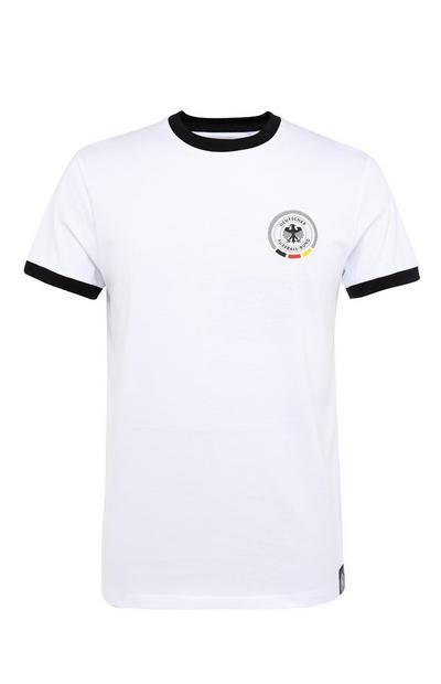 Bela majica Evropskega prvenstva v nogometu Nemčija