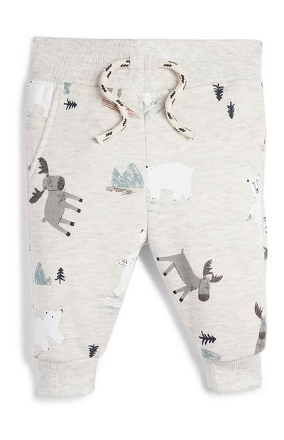 Baby Boy Animal Pattern Joggers