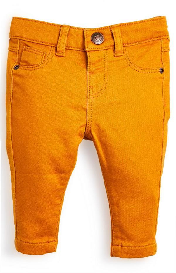 Baby Boy Skinny Twill Pants