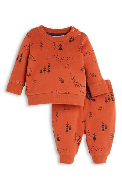 Baby Boy Sweatshirt and Joggers Set