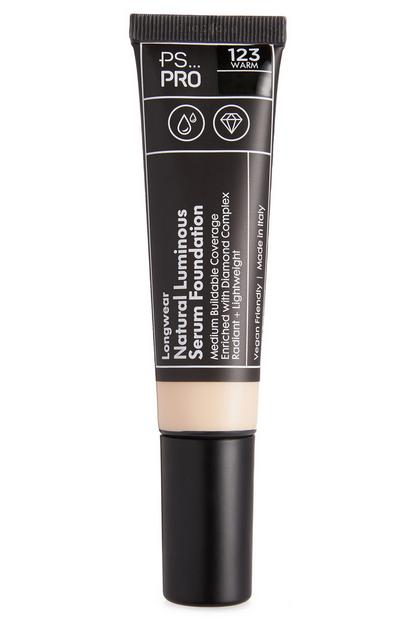 PS Pro Longwear Natural Luminous Serum Foundation 123 Warm