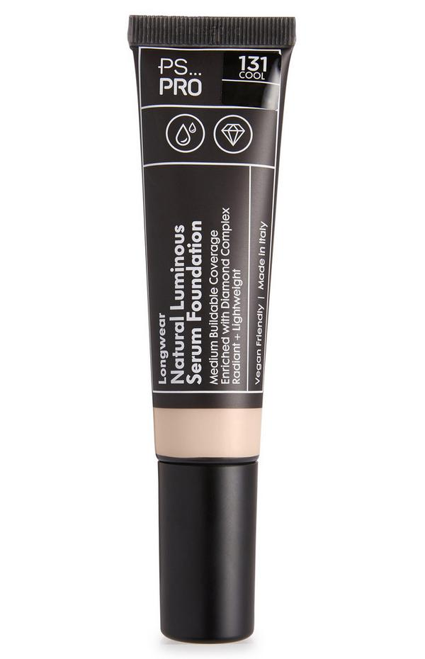 Fond de teint sérum lumineux naturel longue tenue PS Pro 131 Cool