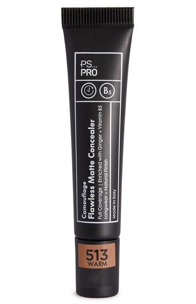 PS Pro Camouflage Flawless Matte Concealer 513 Warm