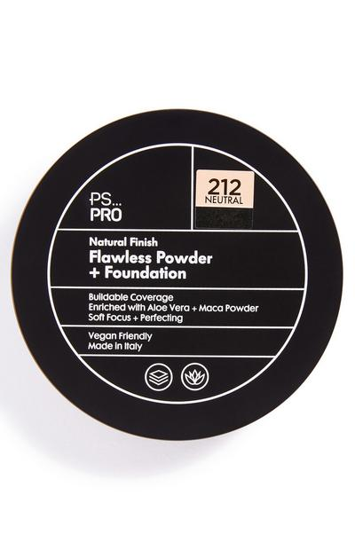 PS Pro Natural Finish Flawless poeder en foundation 212 neutral