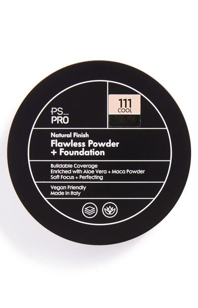 PS Pro Natural Finish Flawless poeder en foundation 111 cool