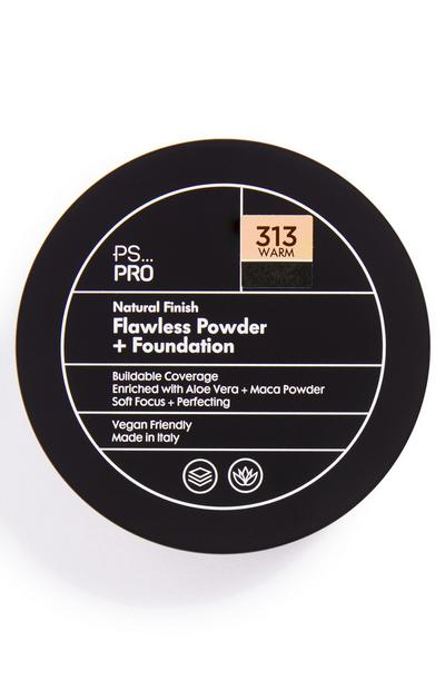 PS Pro Natural Finish Flawless poeder en foundation 313 warm