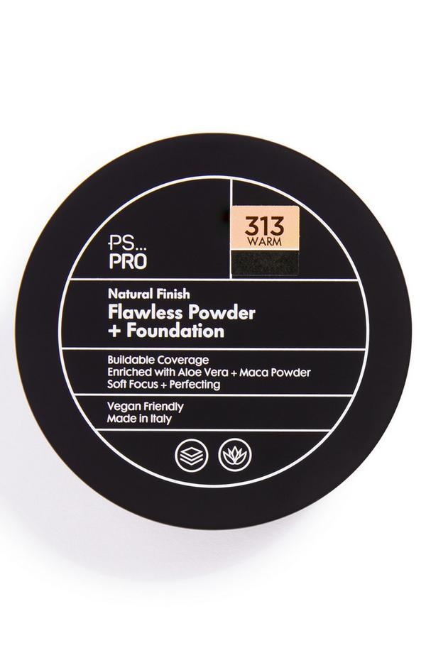 PS Pro Natural Finish Flawless Powder and Foundation 313 Warm