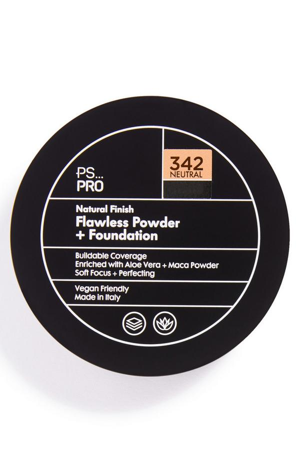 PS Pro Natural Finish Flawless poeder en foundation 342 neutral