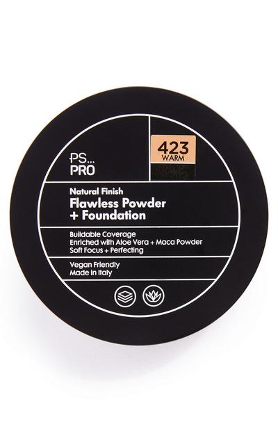 PS Pro Natural Finish Flawless poeder en foundation 423 warm