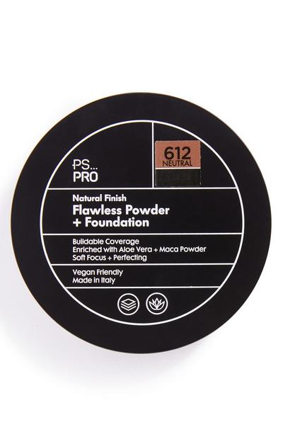 PS Pro Natural Finish Flawless Powder and Foundation 612 Neutral