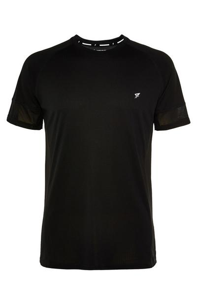 Black Logo Workout T-Shirt