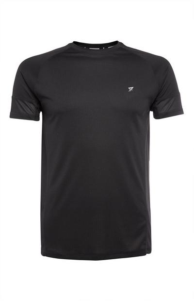 Camiseta de manga corta negra