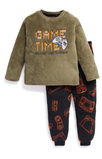 Young Boy Gamer Pyjama Set