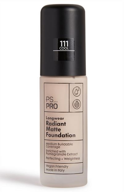 PS Pro Longwear Radiant Matte Foundation 111 Cool