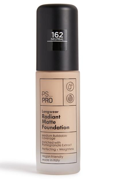 PS Pro Longwear Radiant Matte Foundation 162 Neutral
