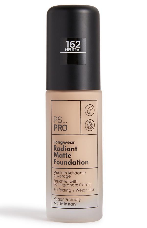 PS Pro Longwear stralende matte foundation 162 neutral