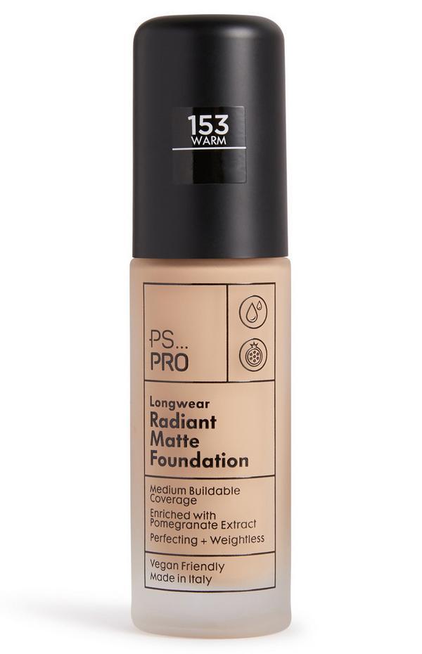 PS Pro Longwear Radiant Matte Foundation 153 Warm