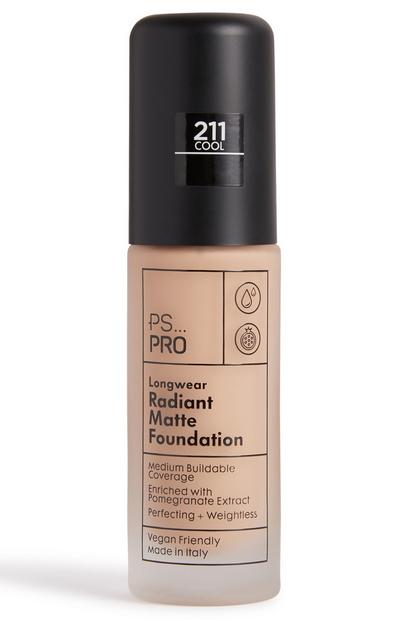 PS Pro Longwear Radiant Matte Foundation 211 Cool