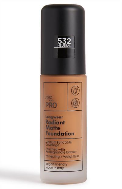 PS Pro Longwear Radiant Matte Foundation 532 Neutral