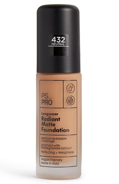 PS Pro Longwear stralende matte foundation 432 neutral