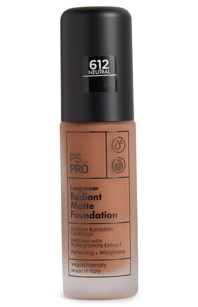 PS Pro Longwear Radiant Matte Foundation 612 Neutral