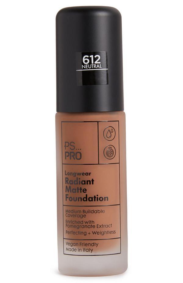PS Pro Longwear Radiant Matte Foundation 612 Neutral