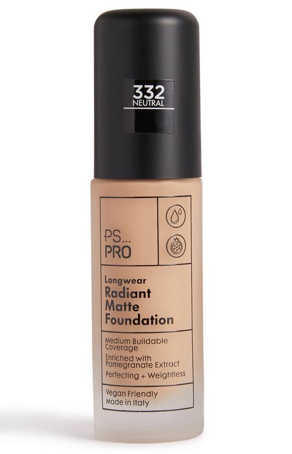 PS Pro Longwear Radiant Matte Foundation 332 Neutral