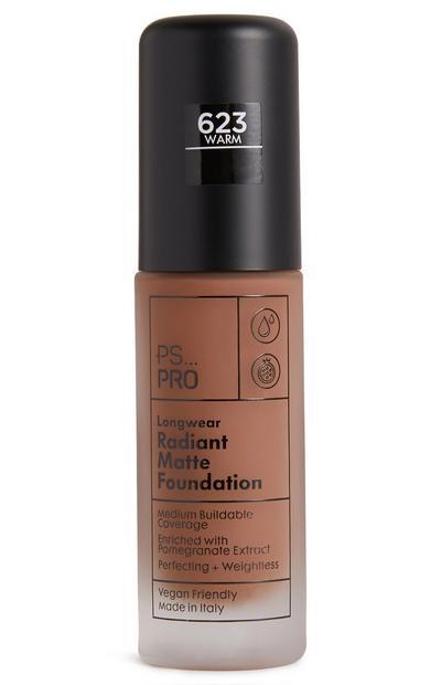 PS Pro Longwear Radiant Matte Foundation 623 Warm