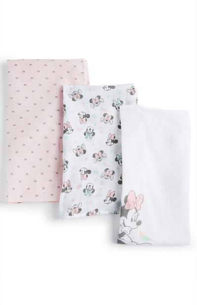 Chiffons en mousseline Minnie Mouse Disney