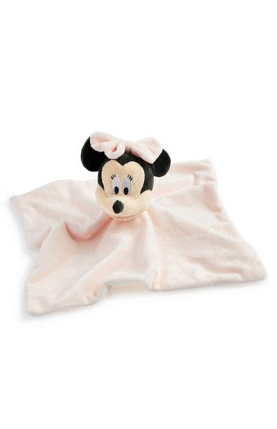 Doudou rose Minnie Mouse